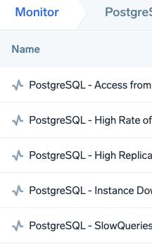 PostgreSQL Alerts