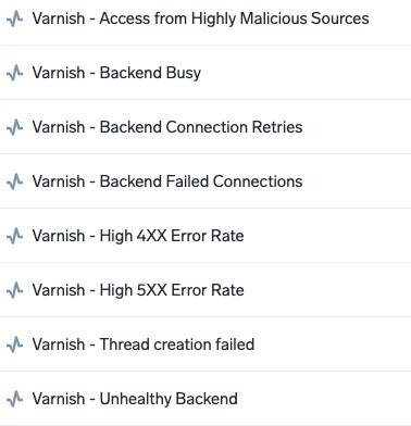 Varnish Alerts