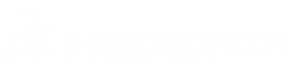 Medidata logo row white
