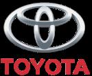 Toyota logo row
